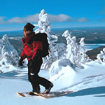 Snowshoeing at Tremblant